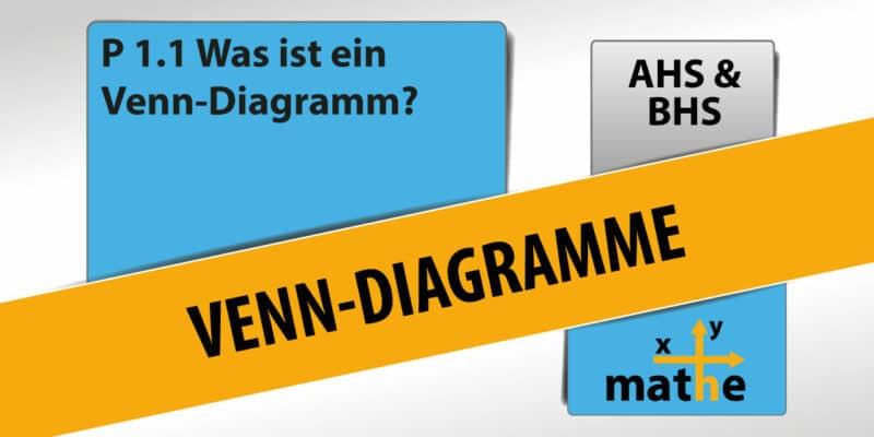 Thumbnail Was sind Venn-Diagramme?